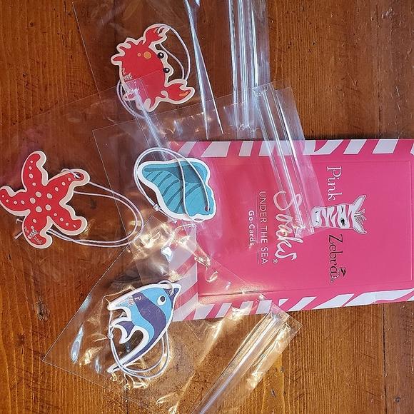 Pink Zebra Under the Sea Go Card Pack